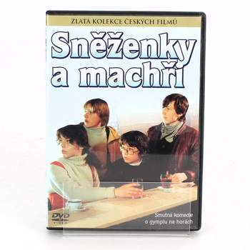 DVD film Sněženky a machři