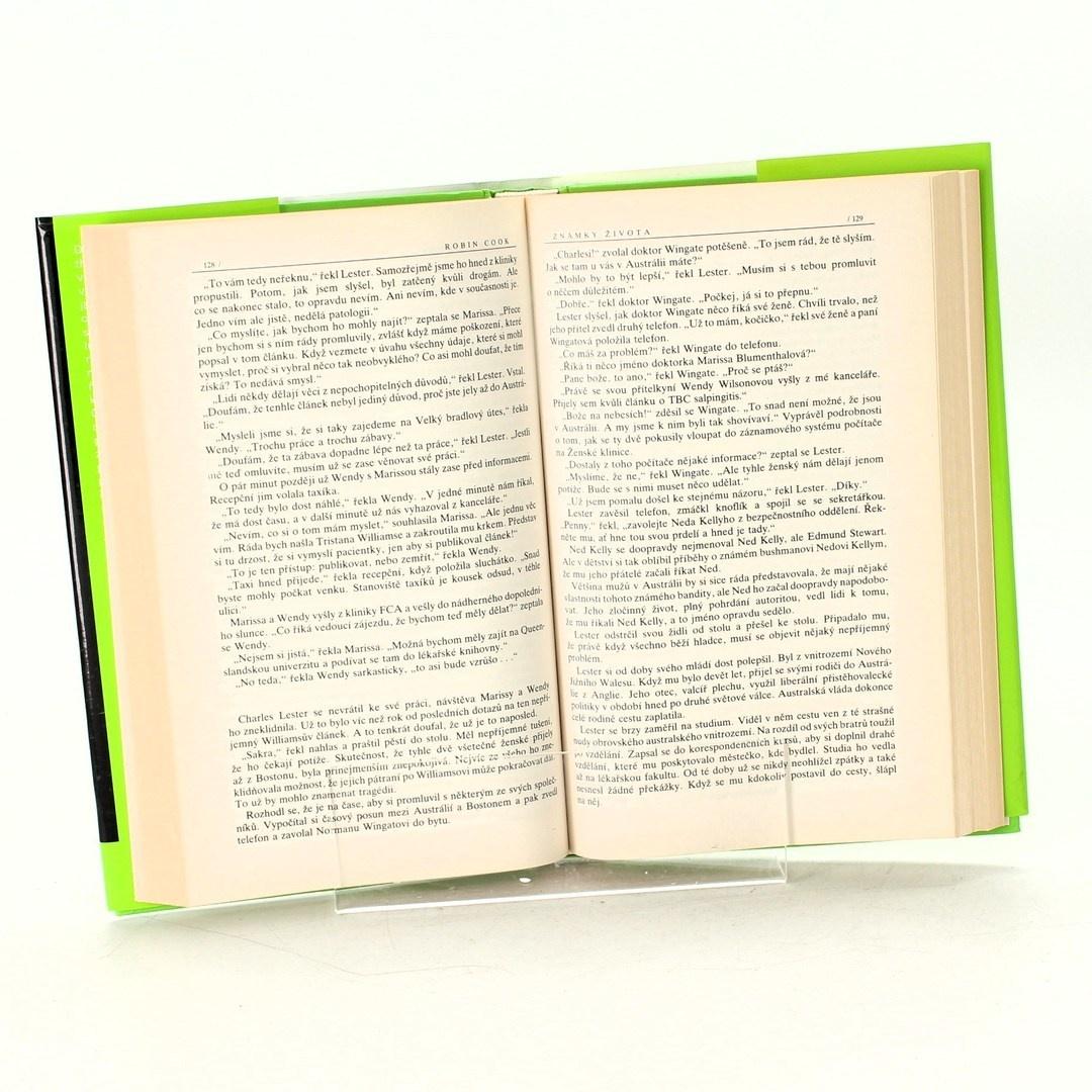 Kniha  Robin Cook: Známky života