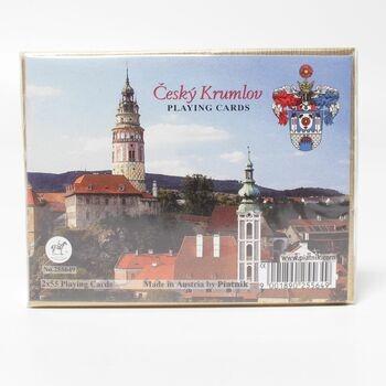 Karty Piatnik 255649 Kanasta Český Krumlov