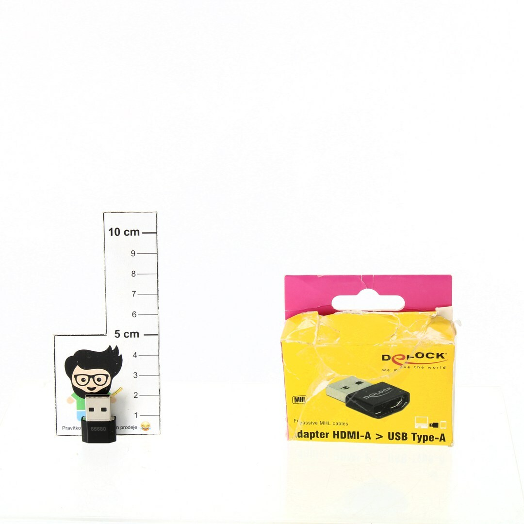 Adaptér USB Delock 65680 černý