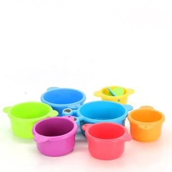 Sada plastových kalíšků pro děti
