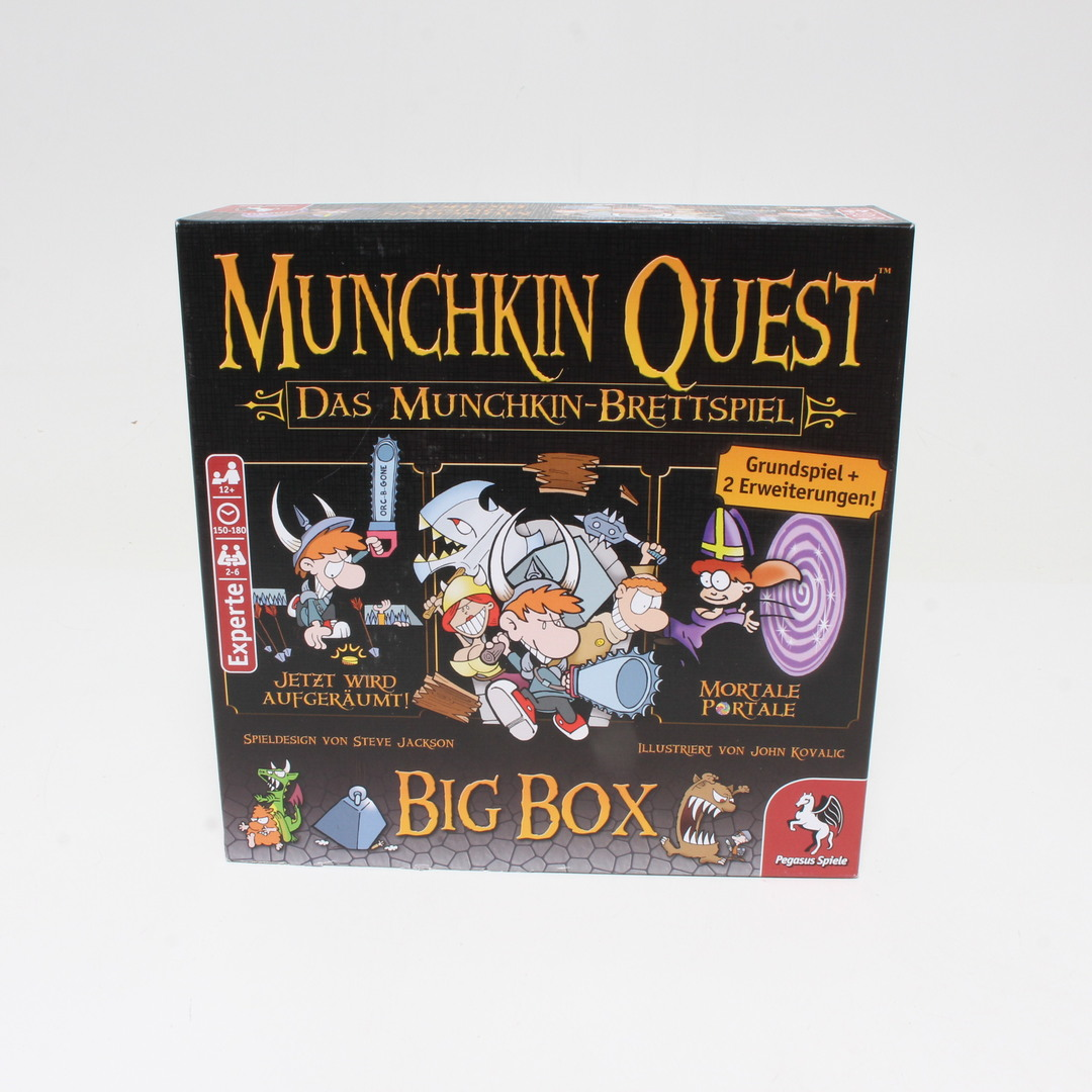 Desková hra Pegasus Spiele Munchkin Quest