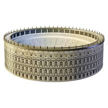 3D puzzle Ravensburger 12578 Coloseum