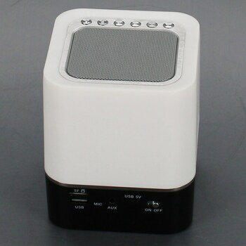 Lampa s budíkem a MP3 AWQM S8