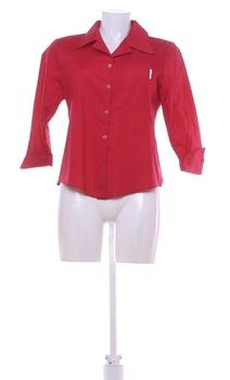 Dámská košile Made in Italy červená