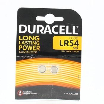 Sada knoflíkových baterií Duracell LR54