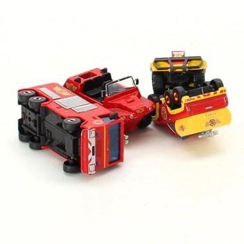 Hasičský set Dickie Toys požárník Sam 3 vozy