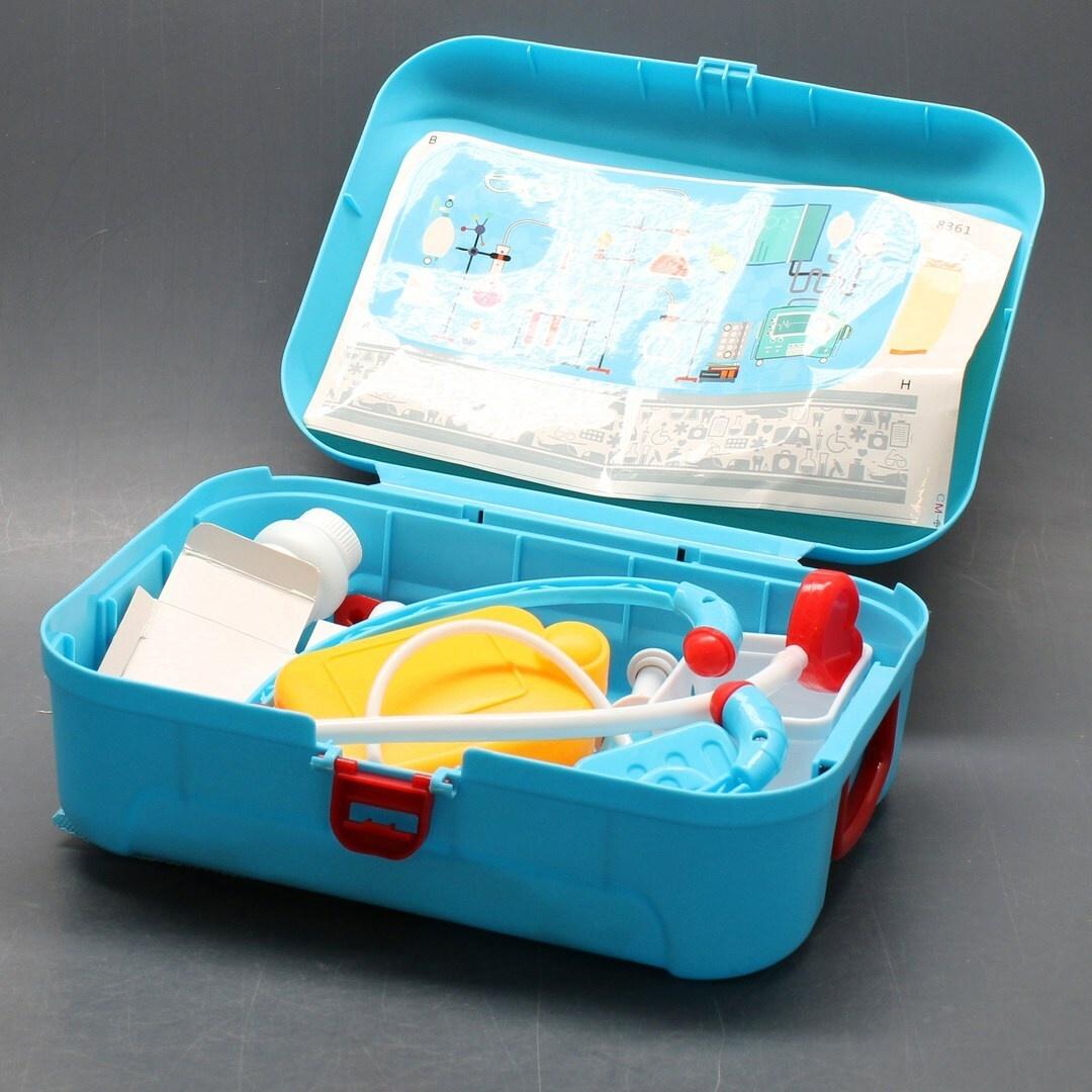 Dětský lékařský kufřík modrý