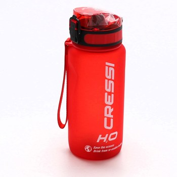 Červená láhev na pití Cressi H2O