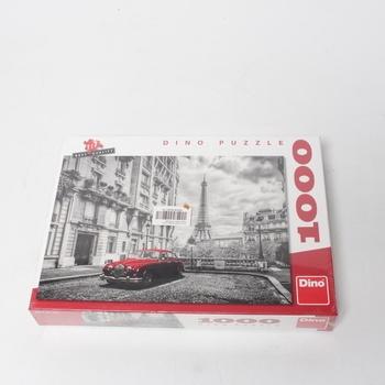 Puzzle DINO Jaguár v Paříži 1000 dílků
