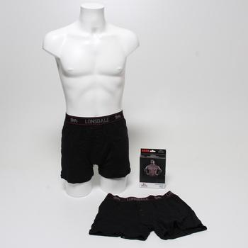 Pánské boxerky Lonsdale černé