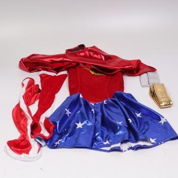 Dámský karnevalový kostým Wonder Woman