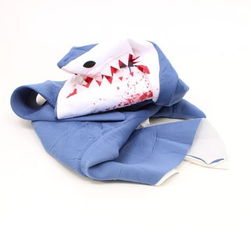 Kostým žraloka Bodysocks modro-bílý