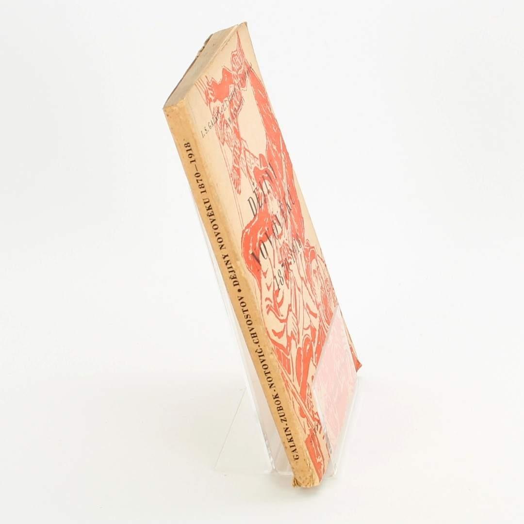 Kniha Dějiny Novověku 1870-1918