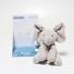 Plyšový slon Baby Gund šedý FR