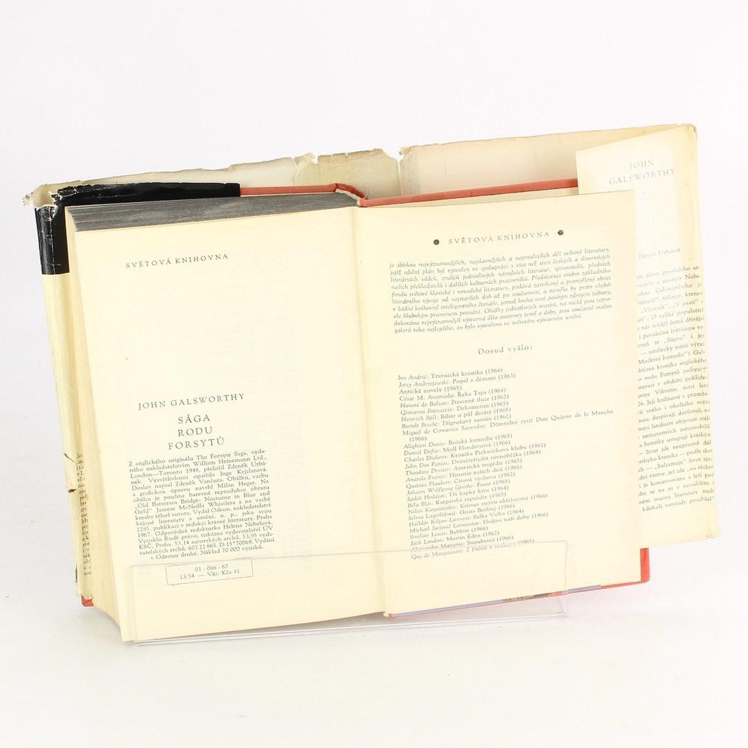 Kniha John Galsworthy: Sága rodu Forsytů
