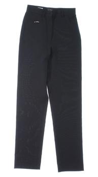 Dámské společenské kalhoty černé barvy