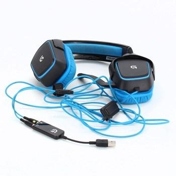 Herní sluchátka Logitech G430 Surround Sound