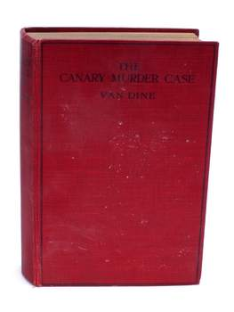 Kniha The Canary Murder Case S. S. Van Dine