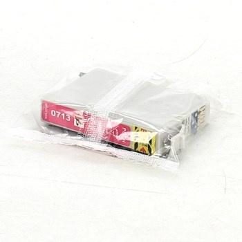 Inkoustová cartridge 0713 purpurová