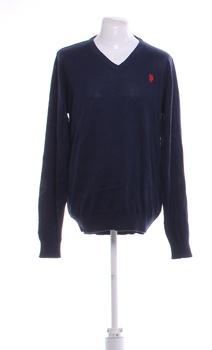 Pánský svetr U.S. Polo Assn. modrý XL