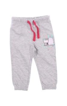 Dívčí tepláky Baby šedé barvy