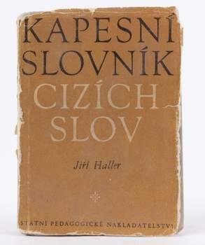 Jiří Haller Kapesní slovník cizích slov