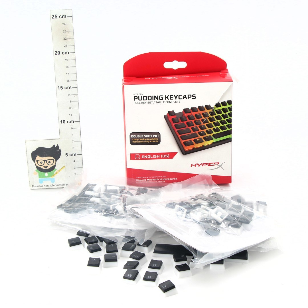 Náhradní klávesnice HyperX HKCPXP-BK-US/G