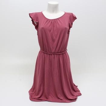 Dámské letní šaty Tom Tailor růžové barvy