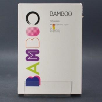 Poznámkový blok Bamboo A4 3 balení