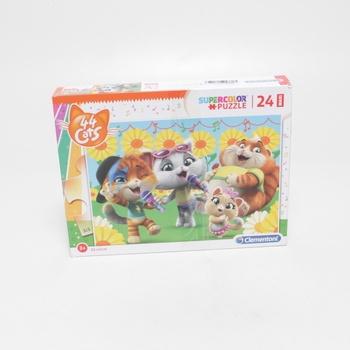 Velké puzzle Clementoni cats 28500