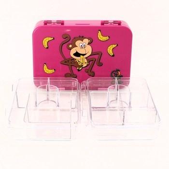 Box na svačinu Takway růžové barvy