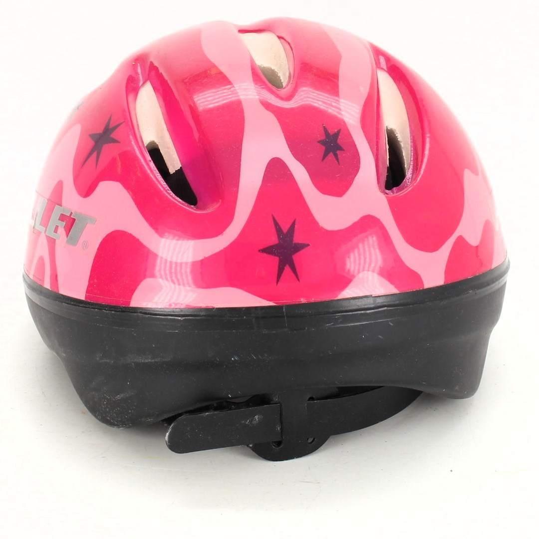 Dětská helma Amulet růžová