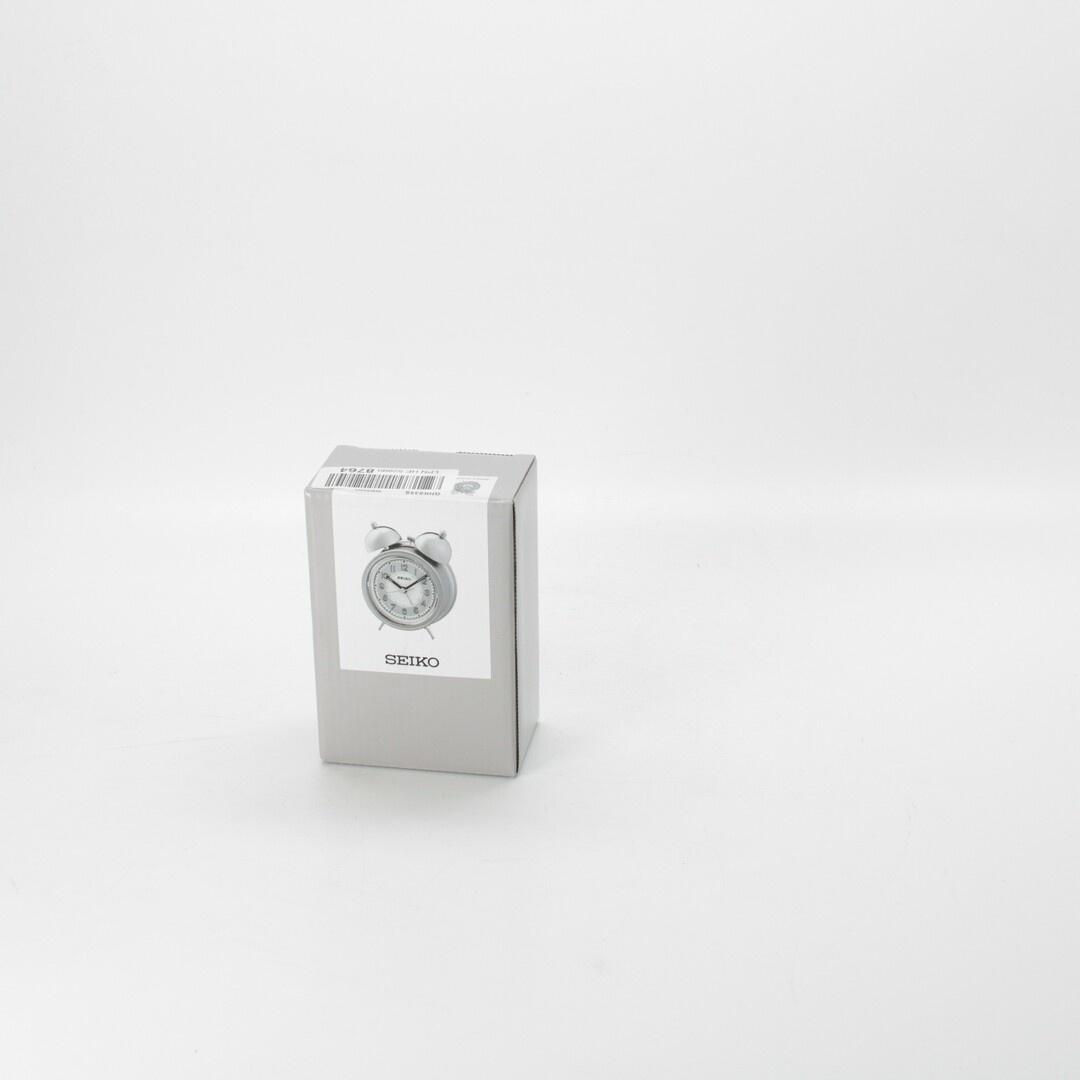 Budík Seiko QHK035S stříbrný