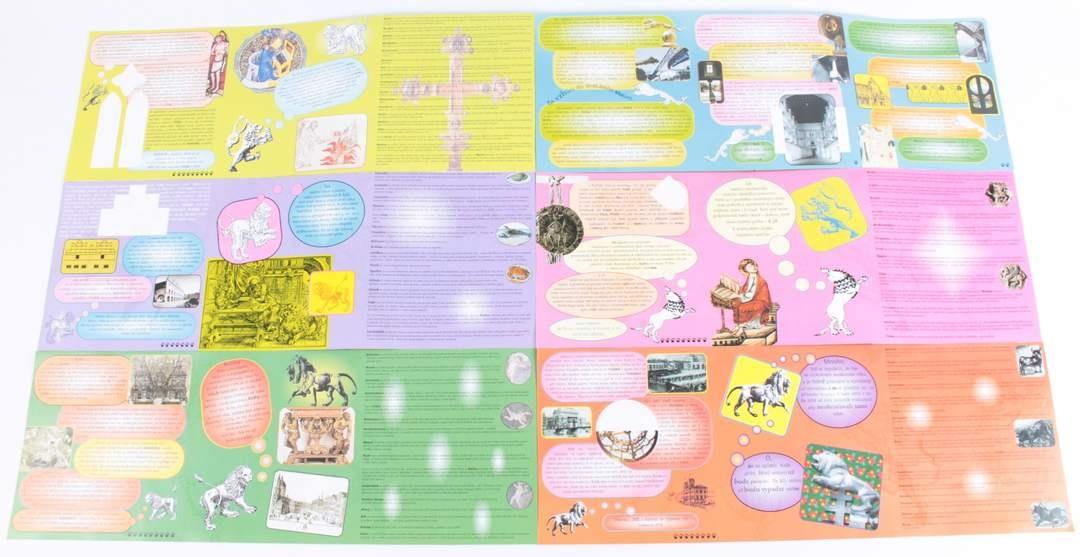 Brožura se 6 barevnými plakáty