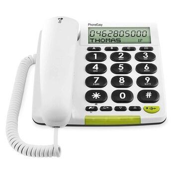 Klasický pevný telefon Doro Easy 312 CS