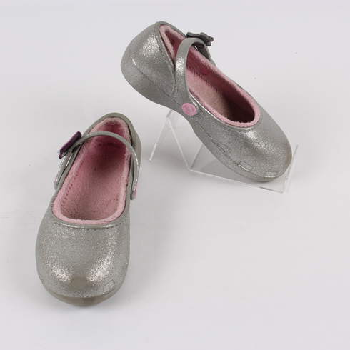 12d4200a932 Dětské střevíce odstín stříbrné - bazar