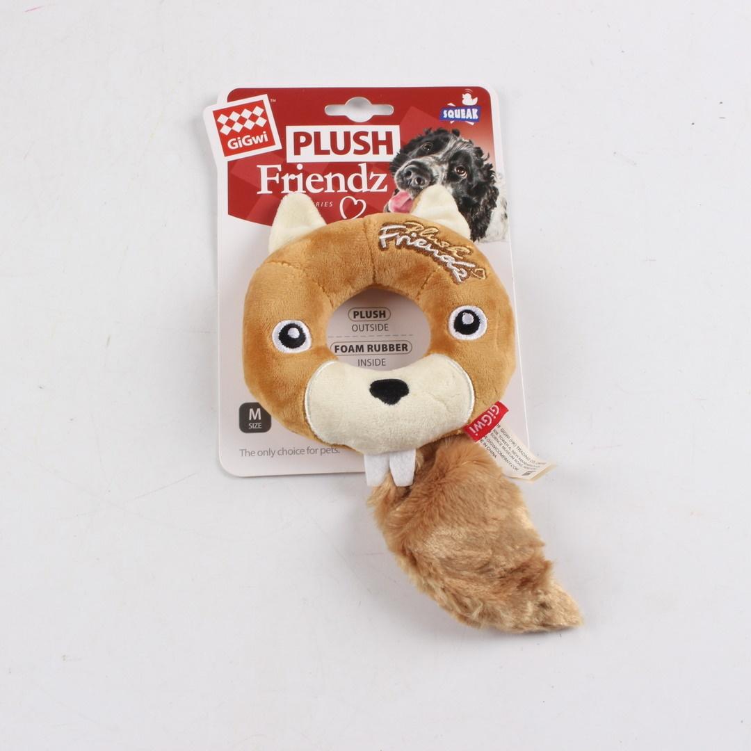 Plyšová hračka pro psy Gigwi