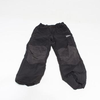 Zateplené kalhoty Jack Wolfskin černé