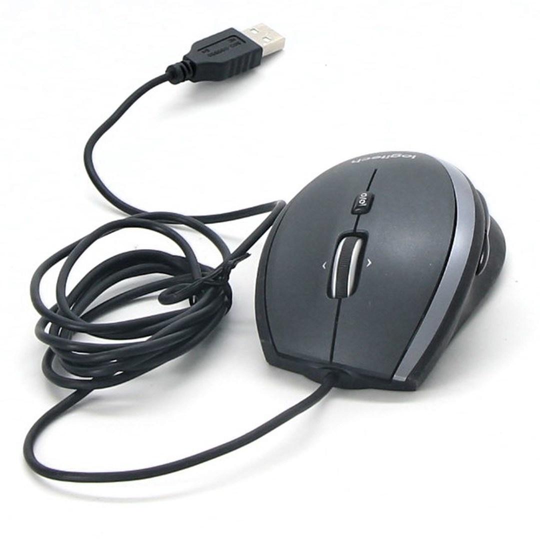 Ergonomická myš Logitech LGT M500
