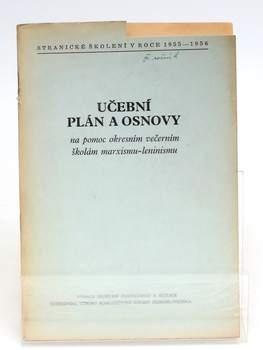 Brožura Učební plán a osnovy