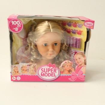 Hlava na česání Bayer Super Model blond