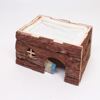 Přírodní dřevěný dům Trixie 6208