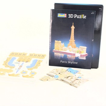 3D puzzle Paříž Revell 00141