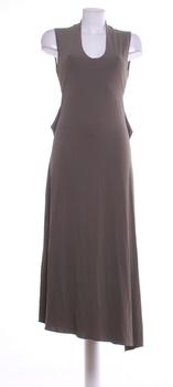 Dámské šaty Eccentrica khaki