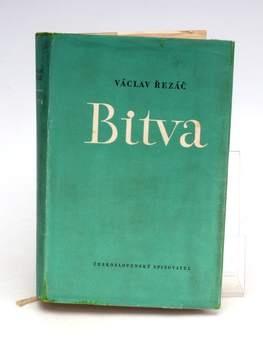 Kniha Václav Řezáč: Bitva