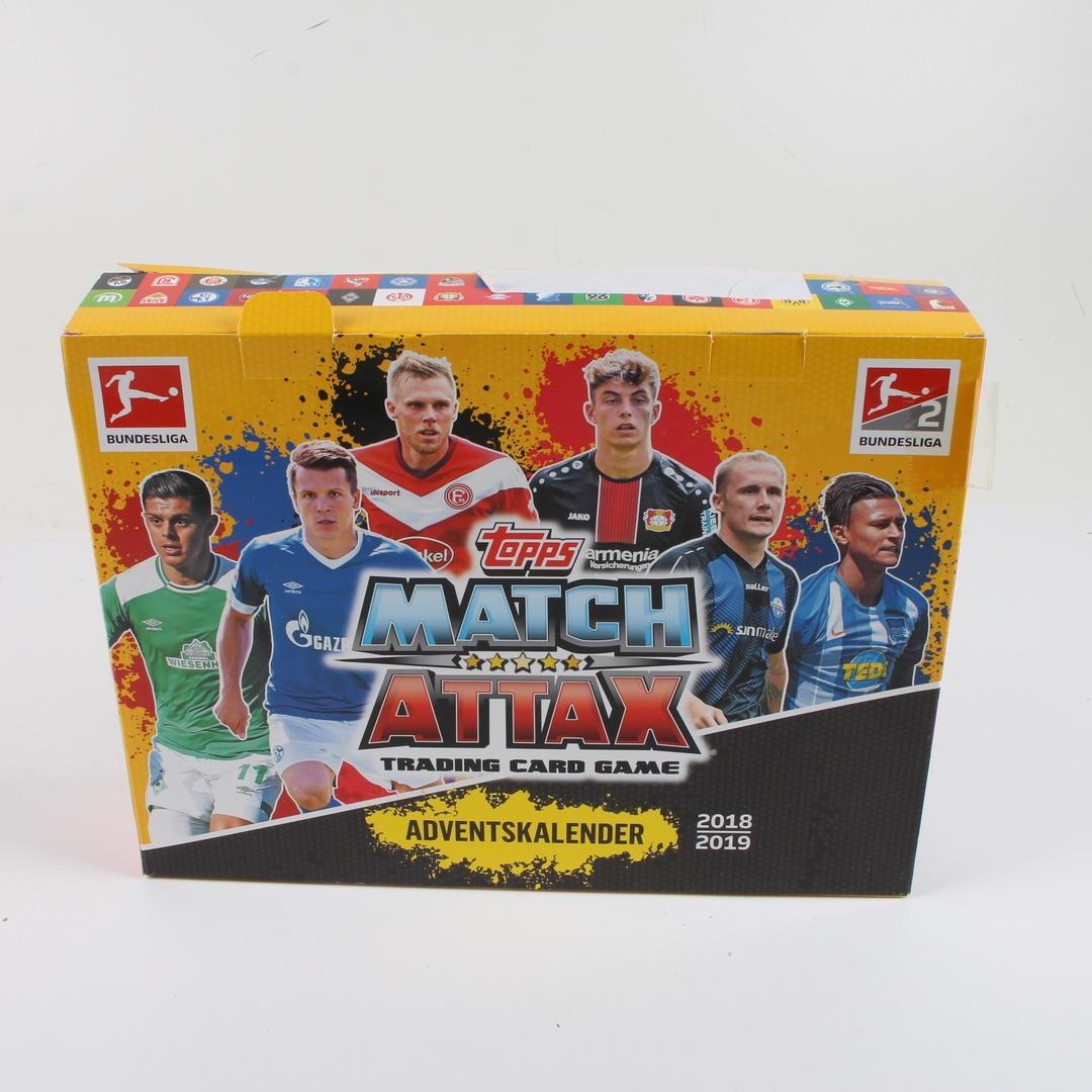 Adventní kalendář Topps Match Attax 2018/19