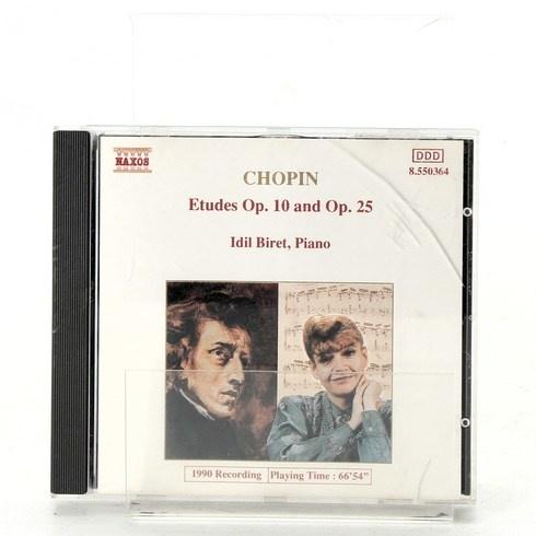 CD Chopin: Etudes Op. 10 and Op. 25