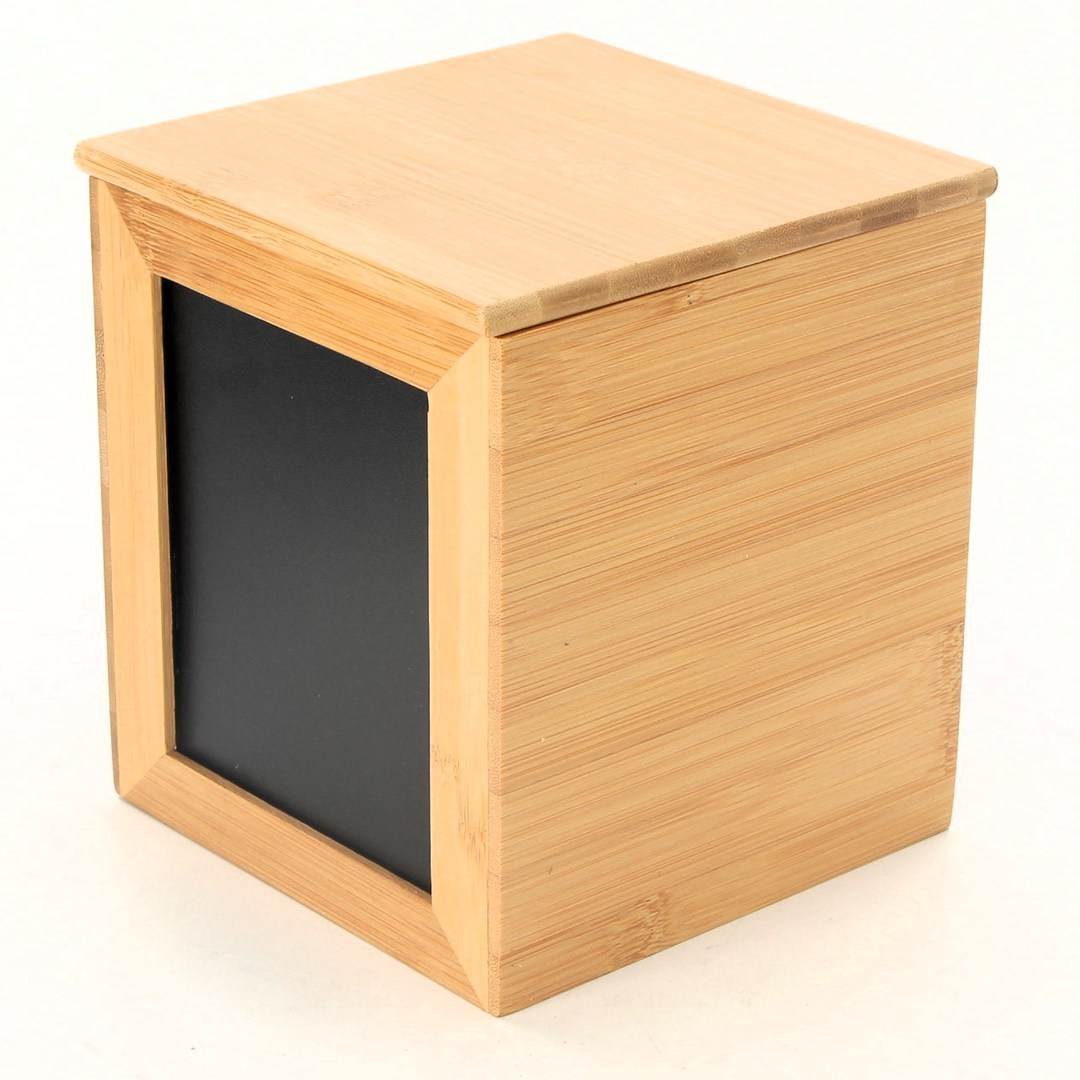 Bambusová krabička RelaxDays s tabulkou