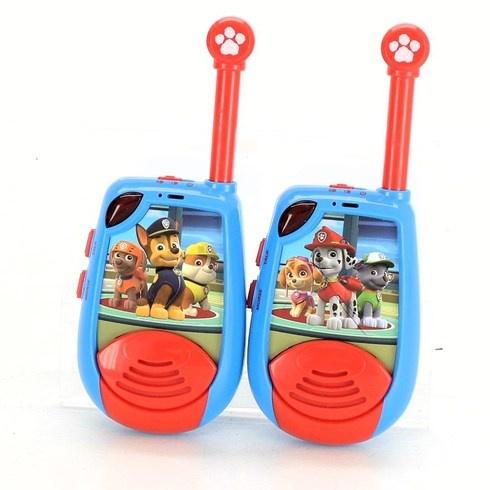 Dětské vysílačky Paw Patrol